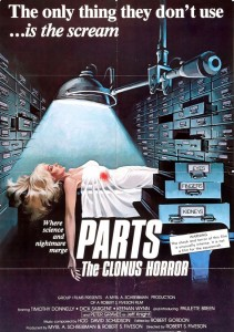 Affiche Clonus Horror