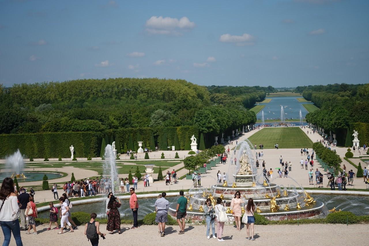 2018 Les Jardins De Versailles Cliche La Lucarne