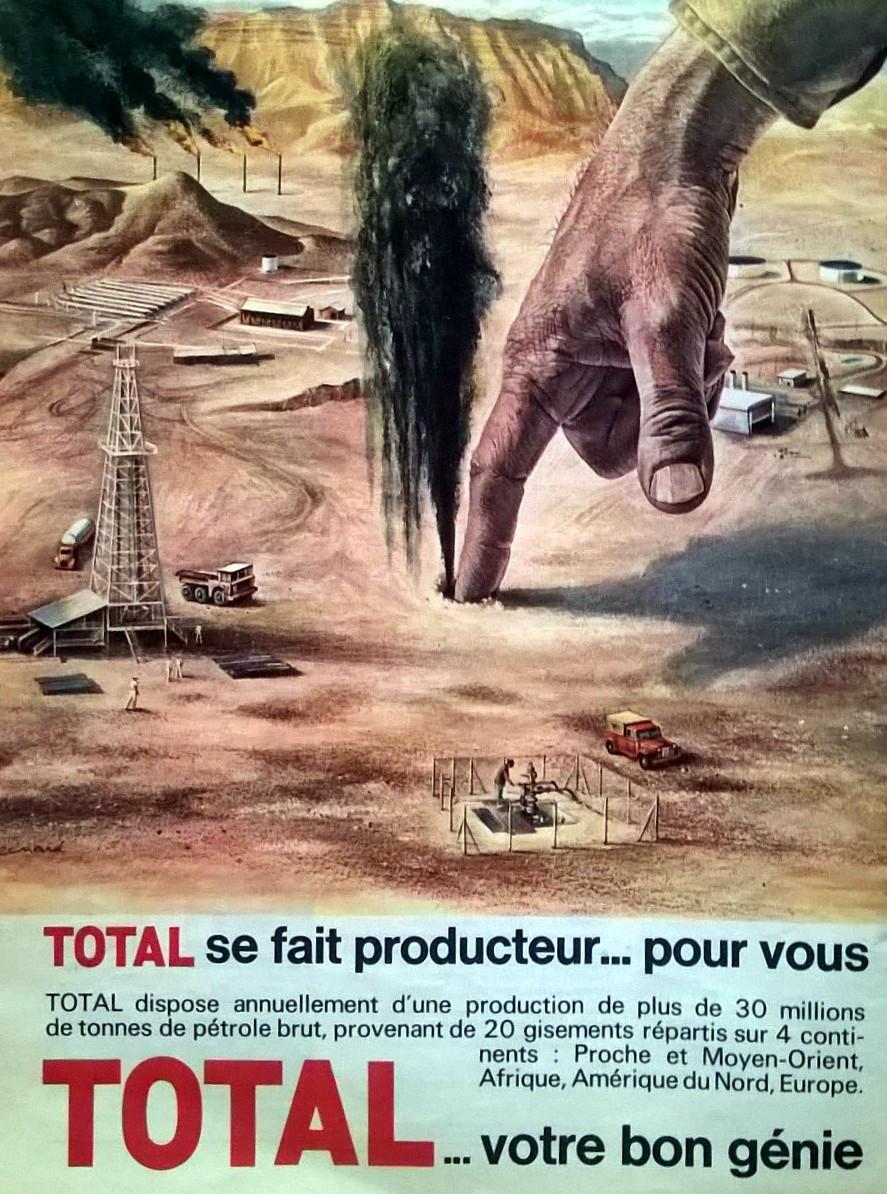 1965 ♢ Total se fait producteur (publicité) – la Lucarne ·